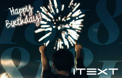 18 years iText!